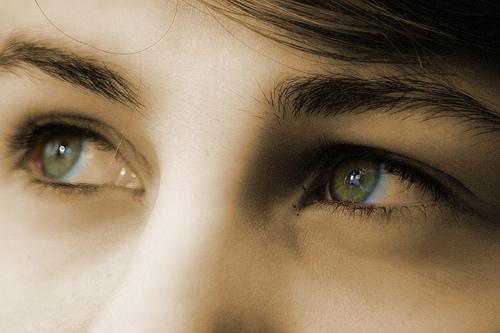 dziewczyna oczy