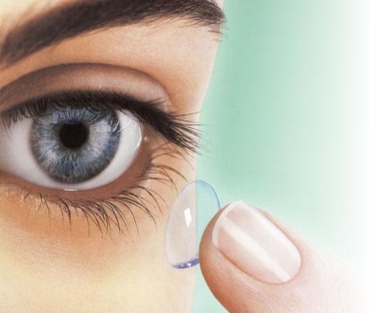 fenomen soczewek kontaktowych