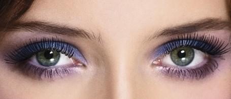 pomalowane oczy