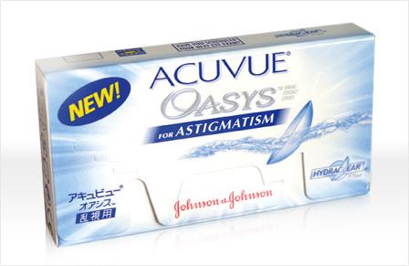 soczewki Acuvue Oasys for Astigmatism