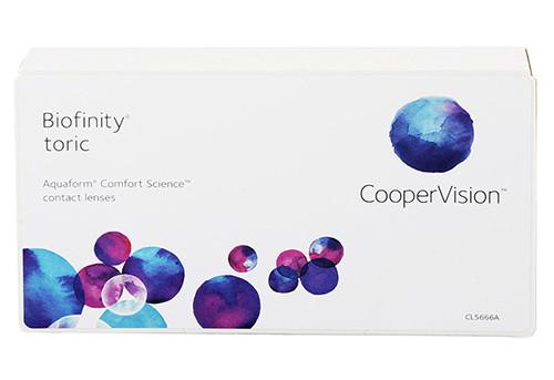 soczewki Biofinity Toric