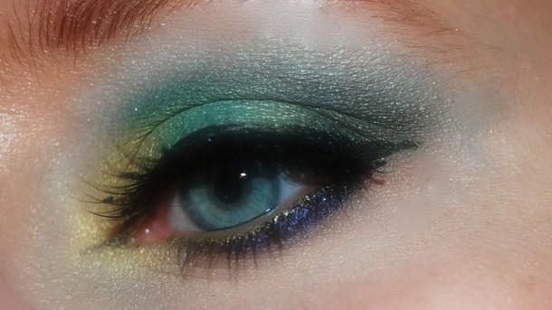 makijaż a soczewki